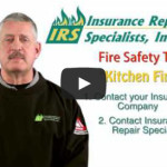Fire Safety Tip from Jeff Duer of Insurance Repair Specialists, Inc.