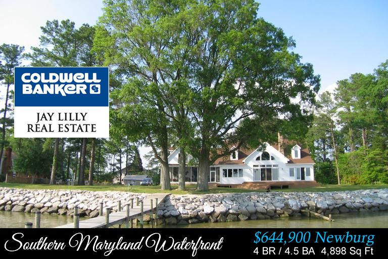 New listing southern maryland waterfront newburg for Southern maryland home builders