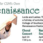 Step Back in Time at the CSM Renaissance Festival