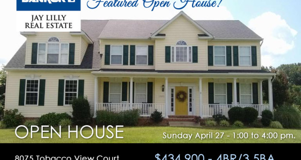 OPEN HOUSES – Weekend of April 26-27, 2014