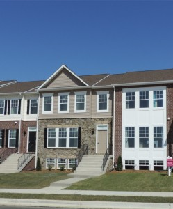 Clarks Rest Townhomes start in the upper $200's