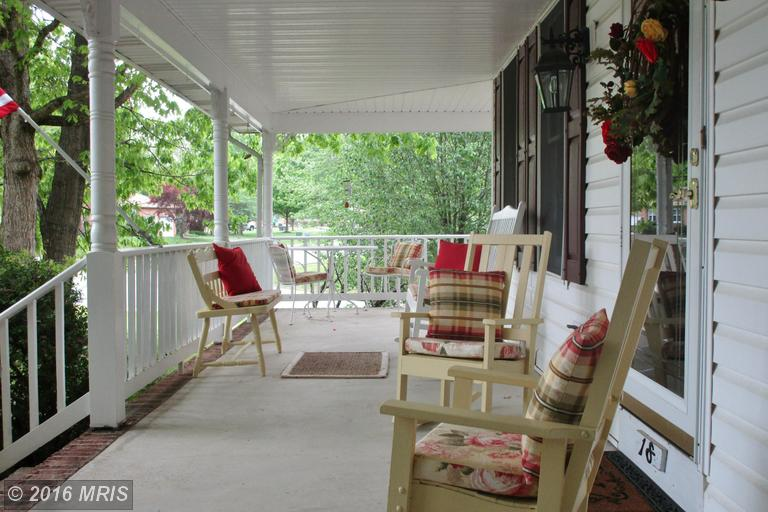 Porch - 8 ft Wide -